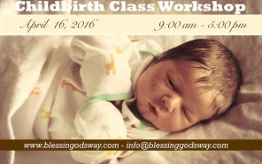 brand new childbirth class flyer